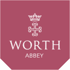 Worth Abbey logo